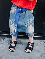 abordables -Enfants Garçon simple / Rétro Couleur Pleine Laine / Coton / Fibre de bambou Jeans