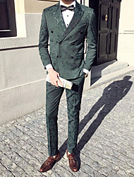 cheap -Men's Active Sophisticated Street chic Suits-Print