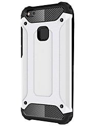 cheap -Case For Huawei P10 Lite P10 Shockproof Back Cover Armor Hard Metal for P10 Plus P10 Lite P10 P8 Lite (2017)
