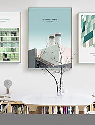 abordables -Laminados en lienzo Modern, Tres Paneles Lona Vertical Estampado Decoración de pared Decoración hogareña