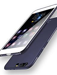 abordables -Coque Pour Huawei P10 Plus P10 Antichoc Ultrafine Couleur unie Flexible pour