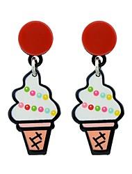 cheap -Women's Drop Earrings , Casual Fashion Alloy Watermelon Ice Cream Jewelry Daily Date Costume Jewelry