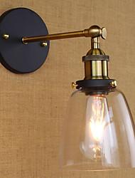 abordables -Style mini Rétro / Vintage Traditionnel/Classique Rustique Appliques Pour Bureau/Bureau de maison Métal Applique murale 110-120V 220-240V