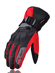 abordables -En plein air équitation madbike gants en fibre de nylon hiver gants chauds imperméables à l'eau