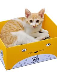 baratos -Gatos Gato Camas Desenho Artístico Papel e Artesanato de Papel Animais de Estimação Delineadores Sólido Leopardo Treinador Alivia