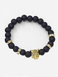 cheap -Women's Strand Bracelet - Fashion Leopard Gold Silver Bracelet For Daily