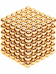 Недорогие -216 pcs 3mm Магнитные игрушки Магнитные шарики Конструкторы Сильные магниты из редкоземельных металлов Неодимовый магнит Стресс и тревога помощи Товары для офиса Своими руками Детские / Взрослые