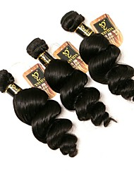 شعر برازيلي تمويخ خفيف ينسج شعرة الإنسان مل 3pcs 3 قطعات 0.15