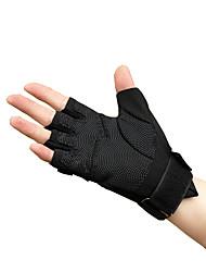 billige -udendørs sort hawk taktiske handsker halvfinger handsker skridsikker slid