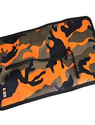 baratos -Bolsa para Côr Camuflagem Poliéster Adaptador de Tomada Flash  Drive Baterias Externas Hard Drive Fones de Ouvido