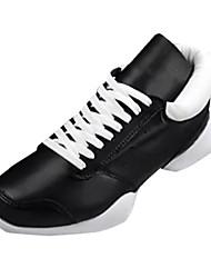 Muškarci Cipele Koža Proljeće Jesen Udobne cipele Atletičarke tenisice Hodanje za Atletski Obala Crn Crno-bijeli