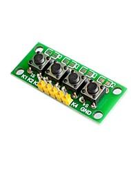 cheap -keyboard module 4 independent key module.