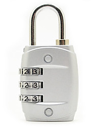 cheap -luggage password lock 3 digital cipher lock for cupboard/gym & sports locker
