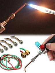 cheap -smith new top gas torch welding soldering little torch soldering with 5 weld tips
