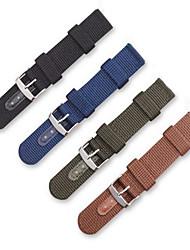 Недорогие -Ремешок для часов для Gear S3 Frontier Samsung Galaxy Современная застежка Нейлон Повязка на запястье