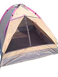 baratos -LANGYA 2 Pessoas Barracas de Acampar Leves Único Poste Dome Barraca de acampamento Ao ar livre Secagem Rápida, Respirabilidade para Campismo Poliéster
