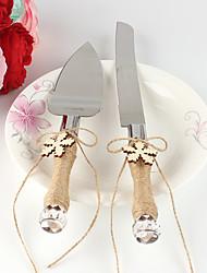 abordables -Métallique Vacances Mariage Anniversaire Boîte à cadeau Ensemble de service