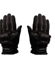 Недорогие -Полный палец Жен. Сохраняет тепло Пригодно для носки Дышащий Нескользящий Гольф Перчатка Махровая ткань
