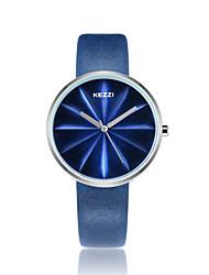 cheap -KEZZI Women's Quartz Wrist Watch Fashion Watch Japanese Casual Watch PU Band Casual Cool Black White Blue Red Green