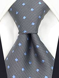 cheap -Men's Work Basic Silk Necktie - Polka Dot