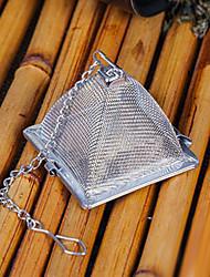 Недорогие -1шт Нержавеющая сталь Ситечко для чая Высокое качество , 4.8*4*4