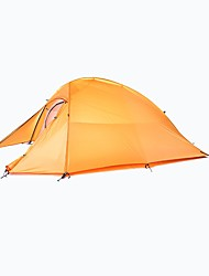 cheap -Naturehike 2 persons Double Camping Tent One Room Backpacking Tents Quick Dry Windproof Rain-Proof for Camping / Hiking 2000-3000 mm
