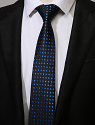 abordables -Homme Travail Décontracté Cravate Points Polka