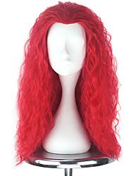 Недорогие -Парики для Лолиты Лолита Красный Прицесса Парики для Лолиты 22 дюймовый Косплэй парики Halloween Парики Хэллоуин парики