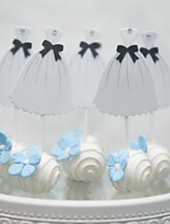 abordables -Décorations de Gâteaux Romance Mariage Cœur Fait à la Main Mariage Soirée avec Strass 1 O-phénylphénol