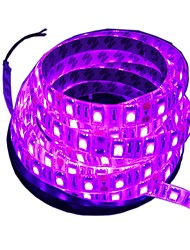 cheap -5 M Flexible LED Light Strips 300 LEDs 5M LED Strip Light Pink Cuttable / Waterproof / Decorative 12 V 1pc / Suitable for Vehicles / Self-adhesive / IP44