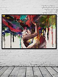 abordables -Impressions sur toile roulées Un Panneau Toile Panoramique vertical Imprimé Décoration murale Décoration d'intérieur