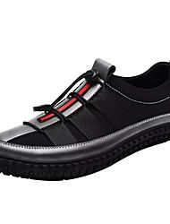 billiga -Herr Textil Vår / Höst Komfort Sneakers Svart / Grå