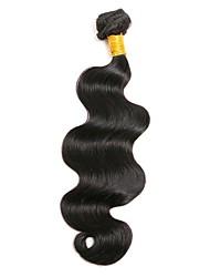 Недорогие -1 комплект Перуанские волосы Естественные кудри 8A Натуральные волосы Человека ткет Волосы Ткет человеческих волос Расширения человеческих волос Жен.