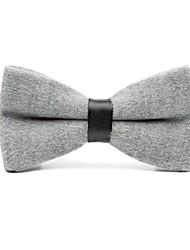 baratos -Homens Simples Casual Gravata Borboleta Sólido