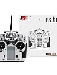 baratos -FLYSKY FS-i10 1conjunto Controles remotos Transmissor / Controlador remoto Plásticos