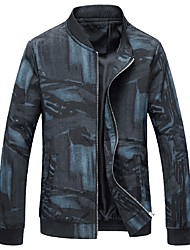 cheap -Men's Plus Size Jacket - Creative Stand