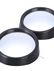 cheap -2pcs/lot universal driver 2 side wide angle round convex car vehicle mirror blind spot auto rearview for all car