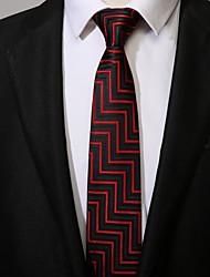 abordables -Homme Travail Décontracté Cravate Rayé