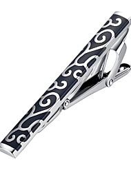 cheap -Black Red Tie Clips Bohemian European Party Gift Men's Costume Jewelry