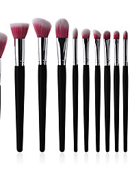 cheap -10-Pack / 11pcs Makeup Brushes Professional Makeup Brush Set / Blush Brush / Lip Brush Synthetic Hair / Artificial Fibre Brush