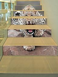 Недорогие -Животные 3D Наклейки 3D наклейки Декоративные наклейки на стены, Винил Бумага Украшение дома Наклейка на стену Стена