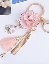 baratos -Romance / Aniversário Chaveiros para Lembrancinha cromada / Strass / Tecidos Chaveiro para Lembrancinha - 1 pcs Todas as Estações