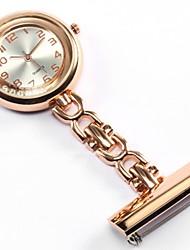 baratos -Mulheres / Casal Relógio de Moda / Relógio de Bolso / Colar com Relógio Chinês Relógio Casual Lega Banda Luxo / Fashion Prata / Dourada / Rose