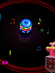 LED osvijetljenje Játék Igračke za kućne ljubimce Valjkast Sportske Pjevanje Dekompresijske igračke Klasik ABS smola Sve 1 Komadi
