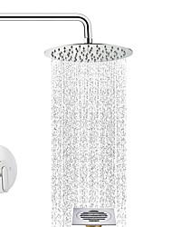 cheap -Shower Faucet - Contemporary Chrome Shower System Ceramic Valve
