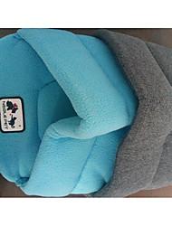 Недорогие -Собаки Коты Кровати Животные Коврики и подушки Однотонный Теплый Компактность Дышащий Влажная чистка Серый Для домашних животных