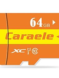Недорогие -Caraele 64 Гб Карточка TF Micro SD карты карта памяти Class10 CA-2