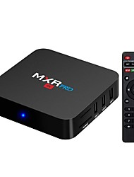 abordables -MXR pro TV Box Android7.1.1 TV Box RK3328 Quad-Core 64bit Cortex-A53 4GB RAM 32MB ROM Octa Core