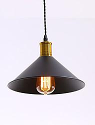 abordables -loft de style industriel vintage lumières noir abat-jour en métal barres cuisine lampe salle à manger