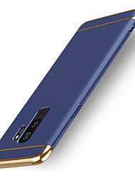 baratos -Capinha Para Samsung Galaxy S9 S9 Plus Antichoque Capa traseira Côr Sólida Rígida Plástico para S9 Plus S9 S8 Plus S8 S7 edge S7 S6 edge
